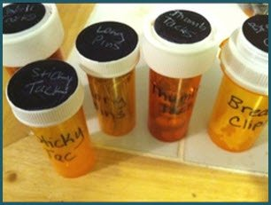 Pill bottles are such a useful thing to store