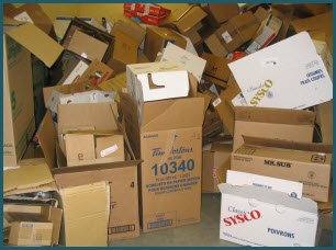 Flatten boxes for more storage space but keep packing tape on hand!
