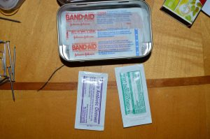 First Aid Items on the Bottom of Kit - DIY Preparedness