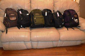 72 hour kit bags
