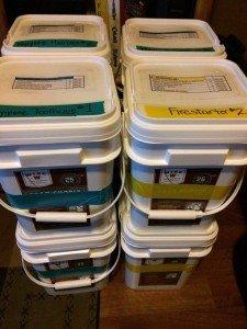 DIY Prep Bucket Home Storage (5)