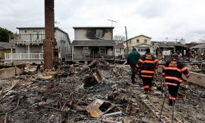 Hurricane Sandy Clean Up