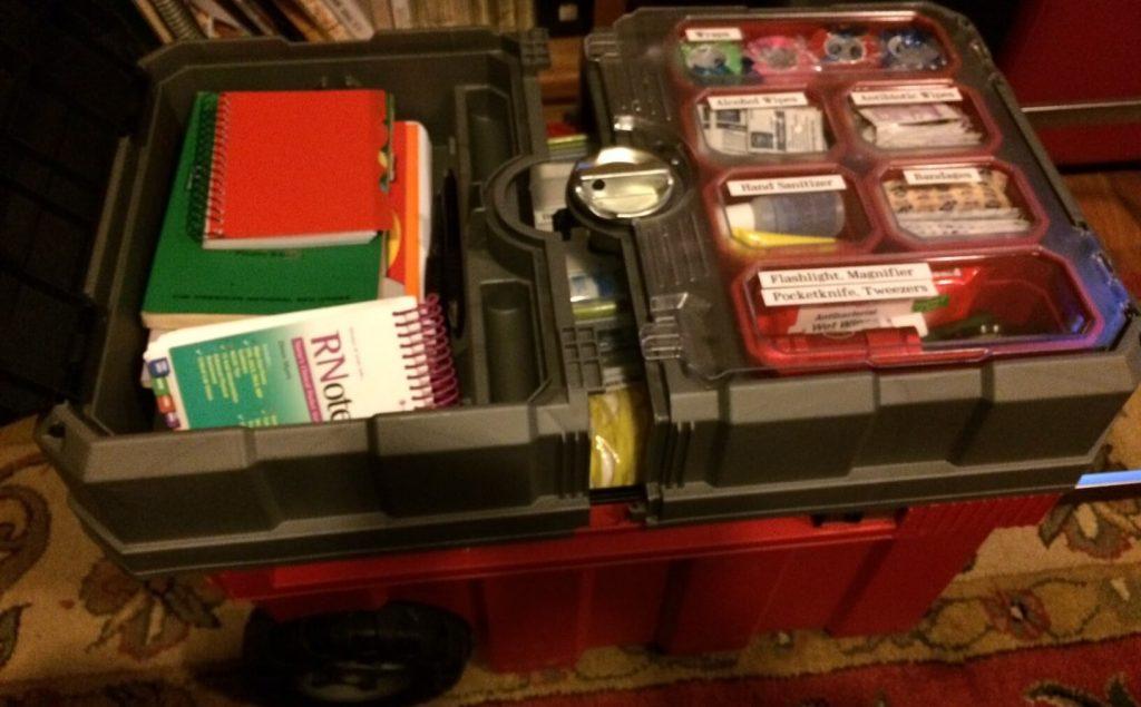 Big First Aid Kit Top - DIY Preparedness