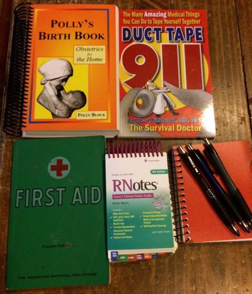 Books for First Aid Kit