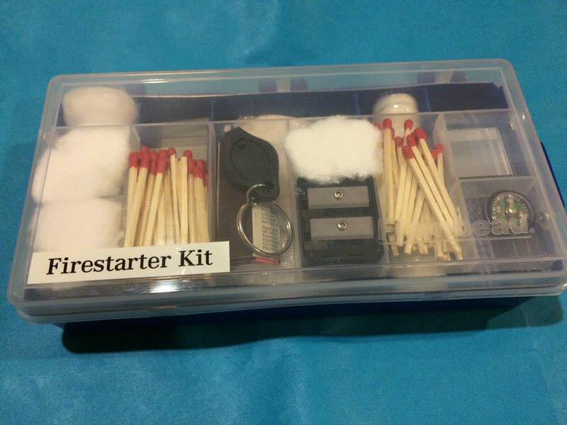 Fire Starting Kit - DIY Preparedness