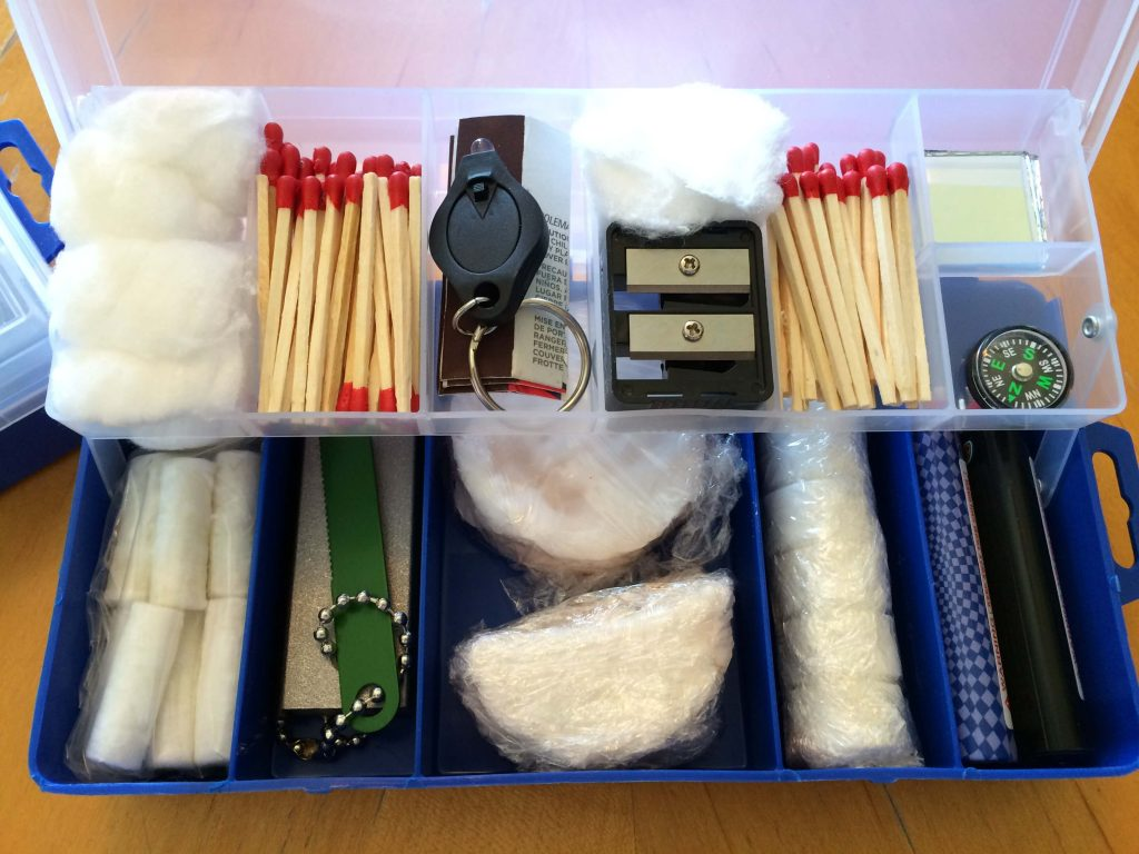 Make Your Own Firestarter Kit - DIY Preparedness