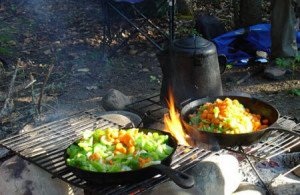 DIY_Cooking_without_Electricity_Oven_racks_Fire