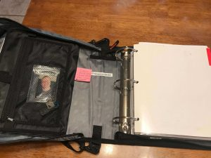 DIY Preparedness Emergency Binder with Zipper Opened -4mp