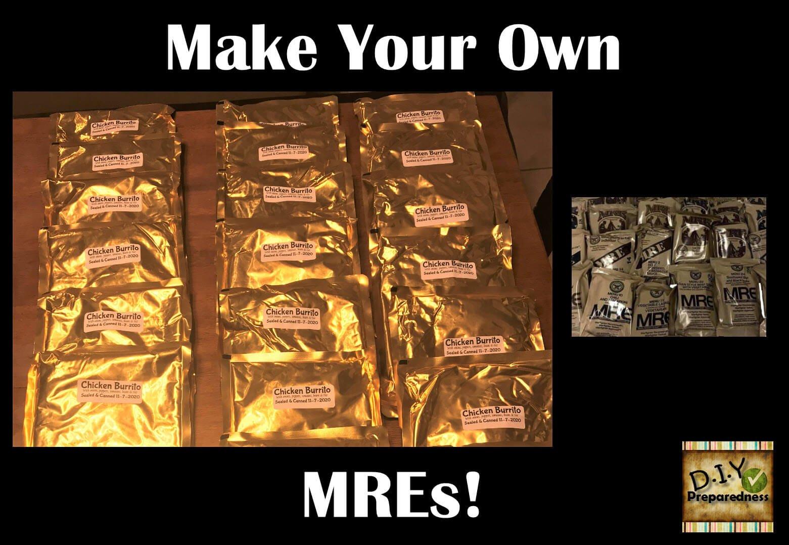 Retort Canning - Make Your Own MREs - DIY Preparedness
