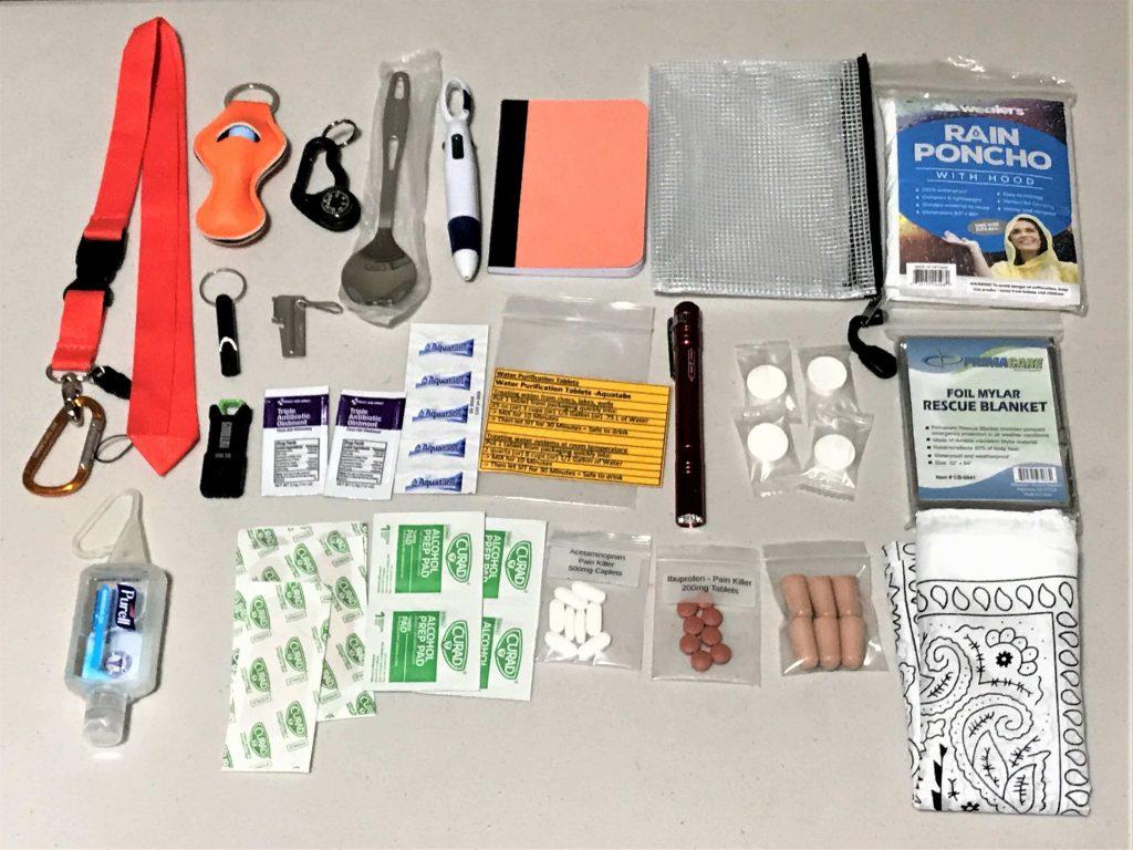 Emergency Lanyards Items - Preparedness Kits (3)